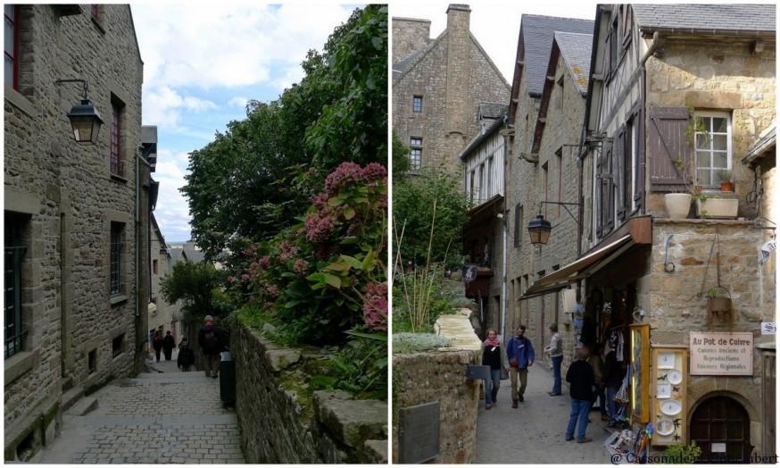 Rues Mont-Saint Michel