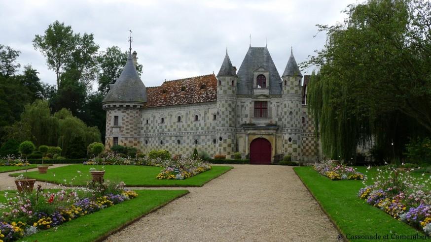 Saint-Germain-de-Livet chateau pays d auge