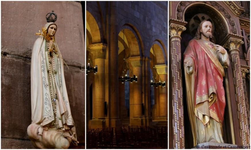 Statues cathedrale St Die des Vosges