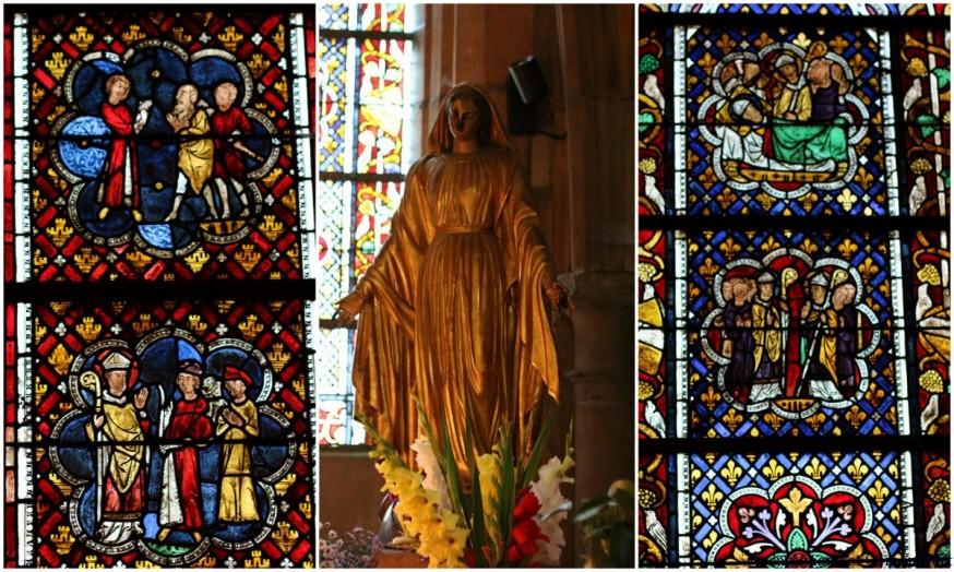 Vitraux cathedrale St Die des Vosges