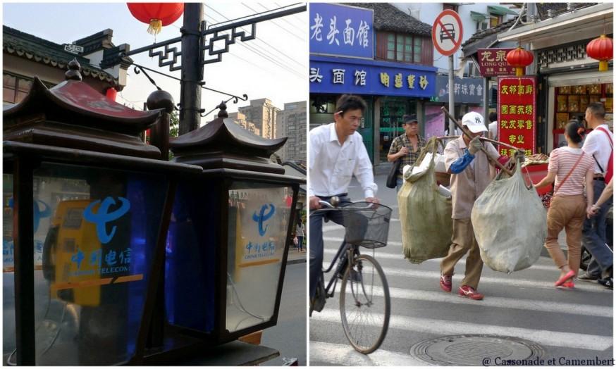Ambiance vieille rue shanghai