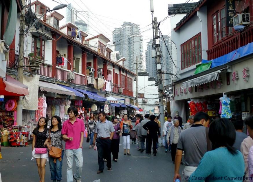 Vieille ville shanghai