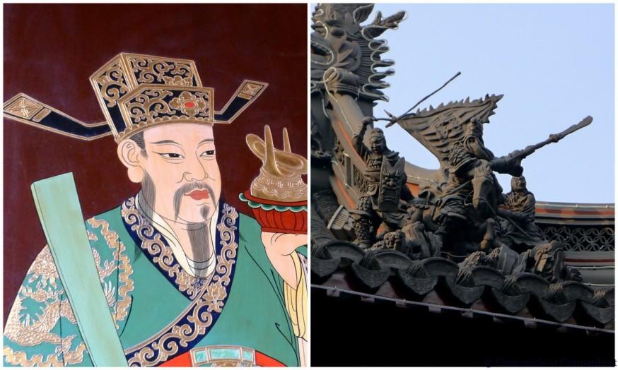 Details temple des dieux chenghuang shanghai