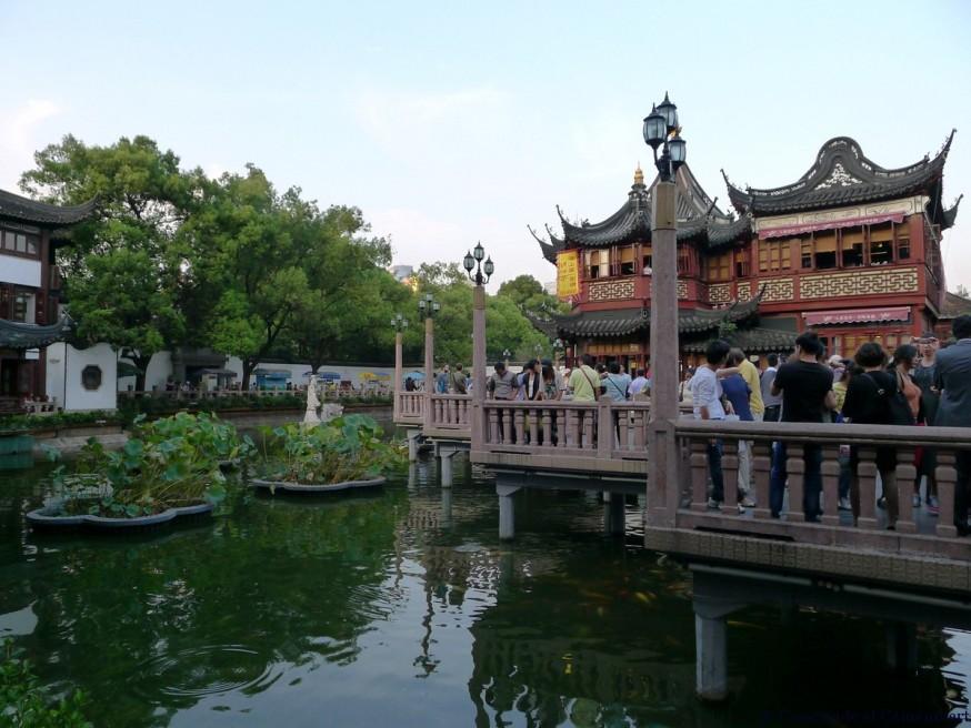 Entree jardin Yu vieille ville Shanghai