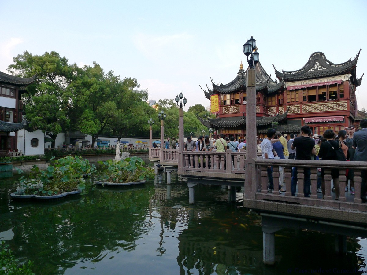 La vieille ville de shanghai cassonade et camembert for Jardin yu shanghai