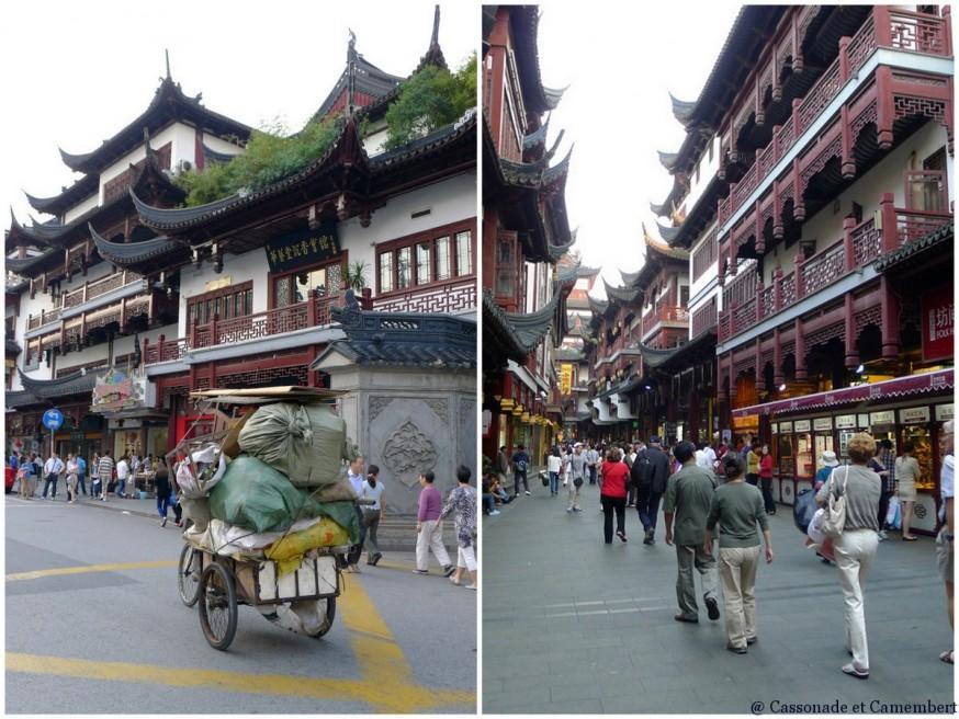 Marché de Yuyuan vieille ville shanghai