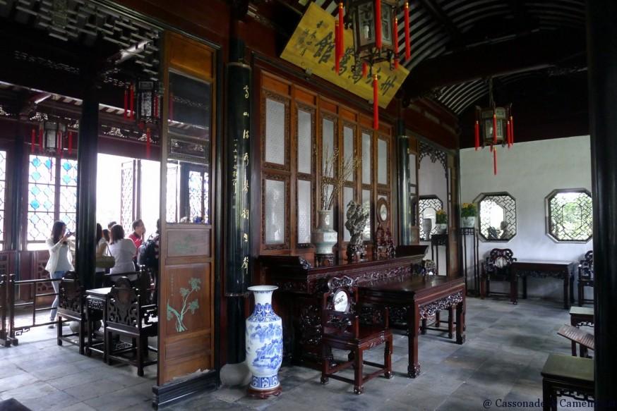 Meubles Pavillon suzhou jardin humble administrateur