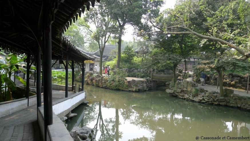 Passage couvert suzhou jardin humble administrateur