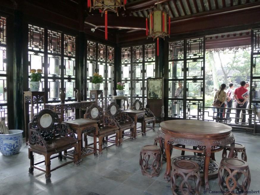 Pavillon suzhou jardin humble administrateur