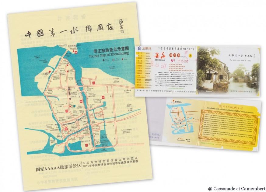 Plan Zhouzhuang