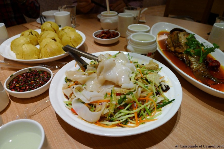 Restaurant Din Tai Fung Nanjing Outlet Shanghai cuisiniers plats