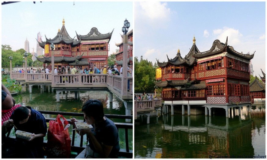 Teahouse Huxinting vieille ville Shanghai