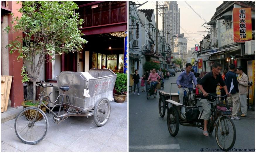 Tricycles vieille ville shanghai