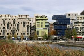 Immeubles logements Lyon Confluence