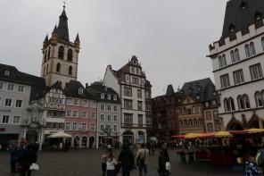 Place du marché Hauptmarkt Treves