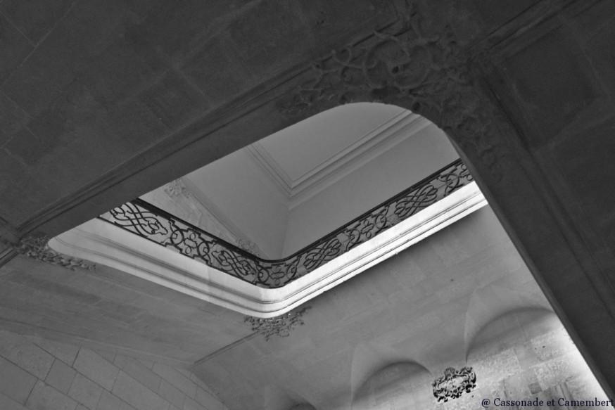 Escalier abbaye du Bec-Hellouin