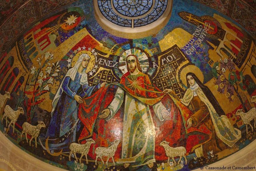 Mosaique du choeur - Basilique de Lisieux