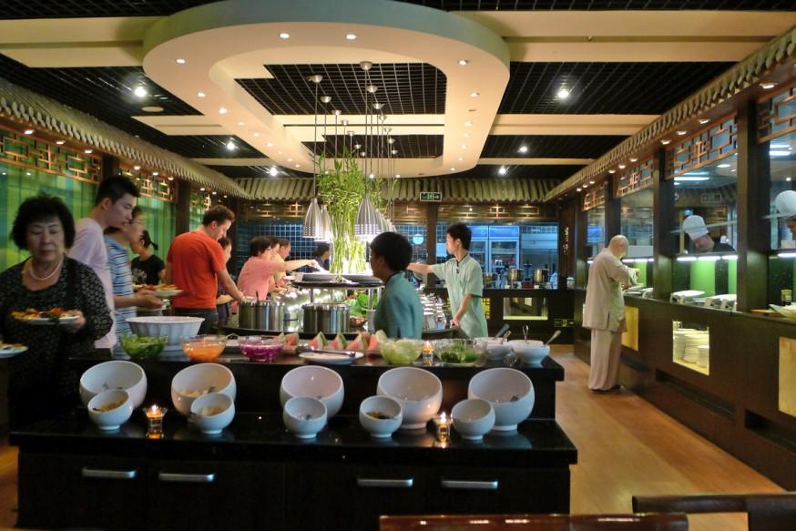 Buffet Restaurant Xu Xiang Zhai Rue Guozijian Pékin