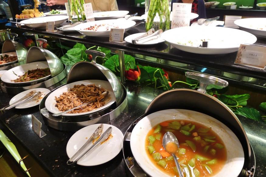 Restaurant vegetarien Xu Xiang Zhai Rue Guozijian Pékin