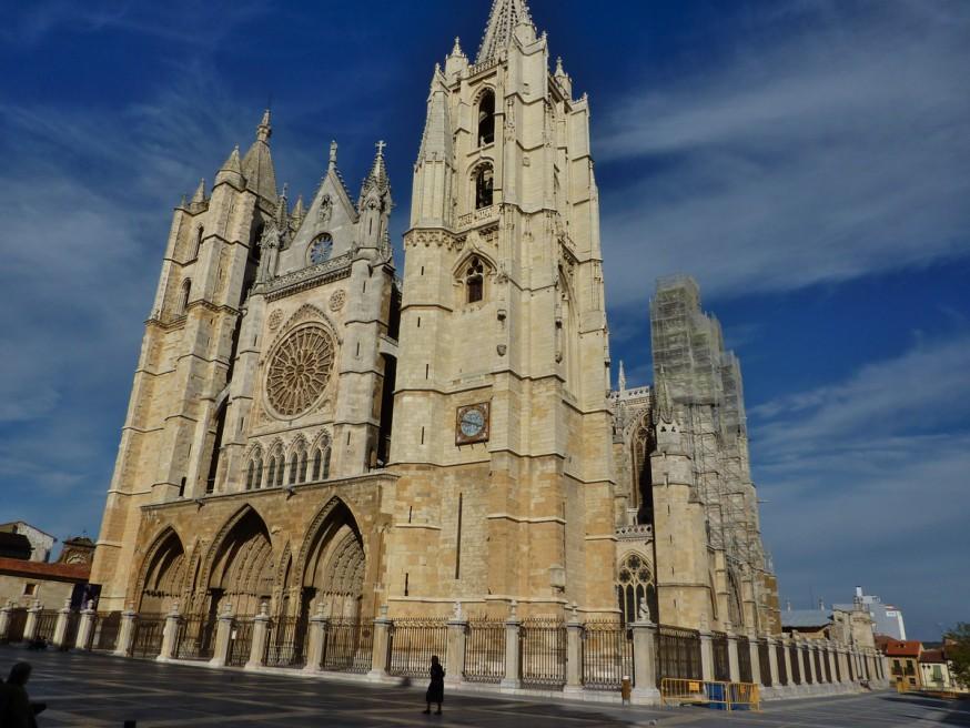 Cathedrale de Leon - Compostelle Castille