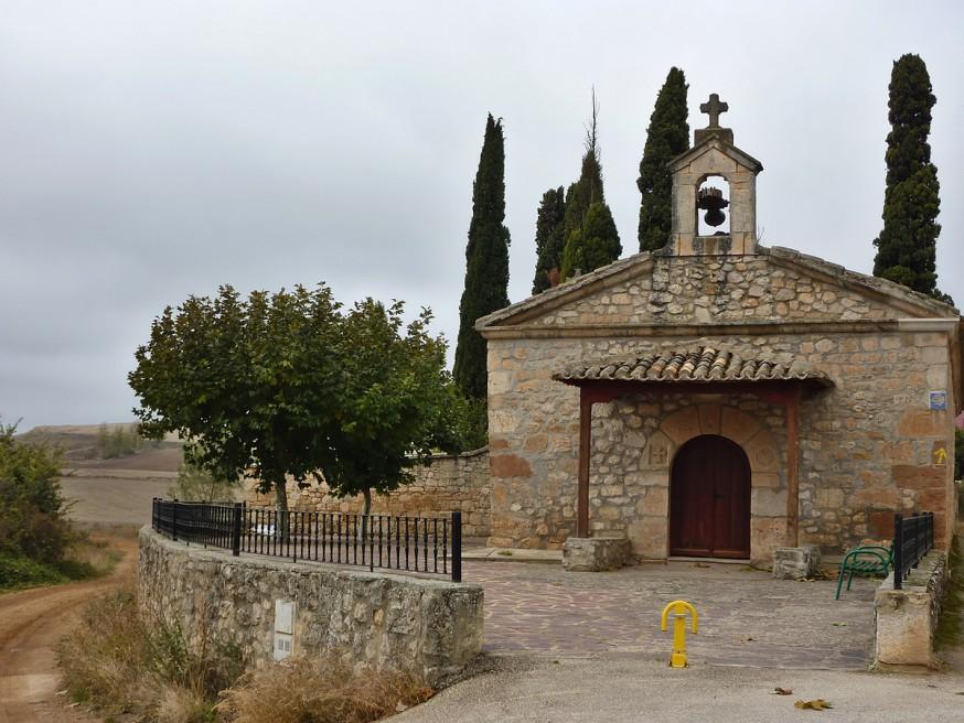 Chapelle Compostelle Meseta Burgos Hornillos del Camino