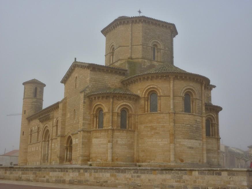 Eglise de Fromista Compostelle Meseta
