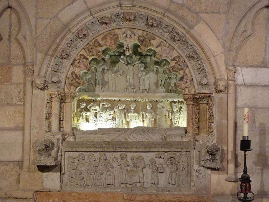 Gisant - Cathedrale de Leon - Compostelle Castille