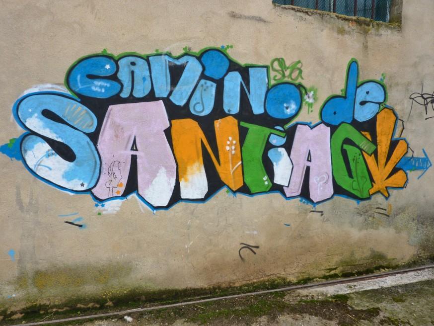 Graffiti Camino de Santiago