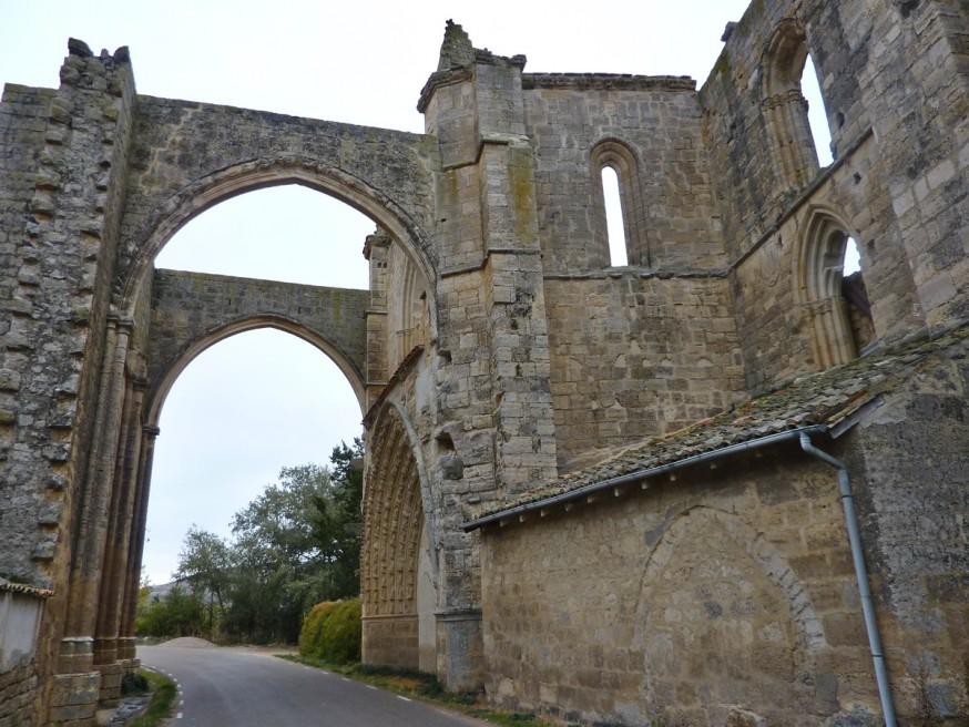 Ruines du couvent de San Anton Compostelle Meseta Hornillos Castrojeritz