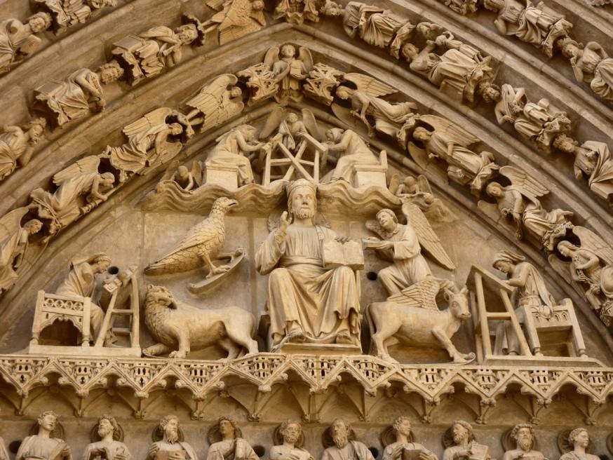 Tympan cathedrale de Burgos