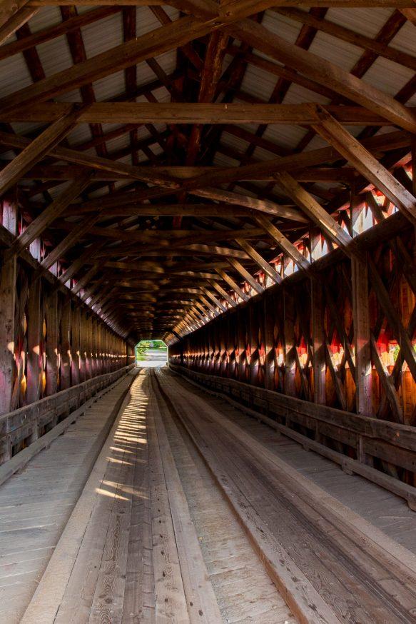 Pont couvert de Grands remous