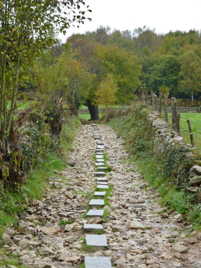 Corredoiras - Gués de pierre - Galice - Compostelle