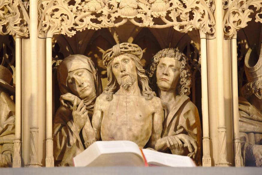 Detail Retable Kilianskirche Heilbronn