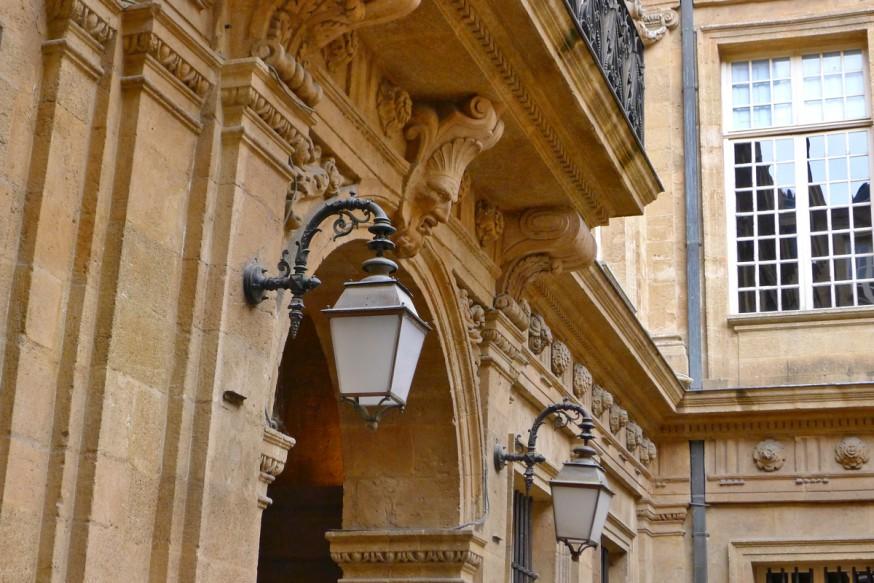 Entrée Hôtel de ville - Aix-en-Provence