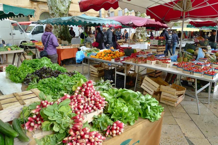 Légumes  - Marché à Aix-en-Provence