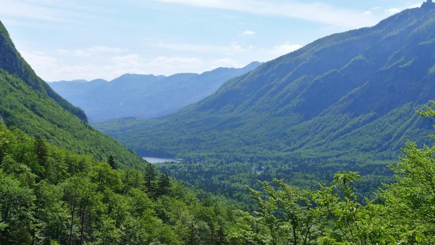 Montagnes et lac de Bohinj