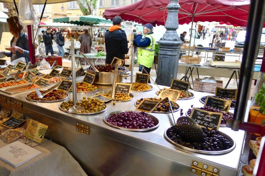 Olives - Marché à Aix-en-Provence