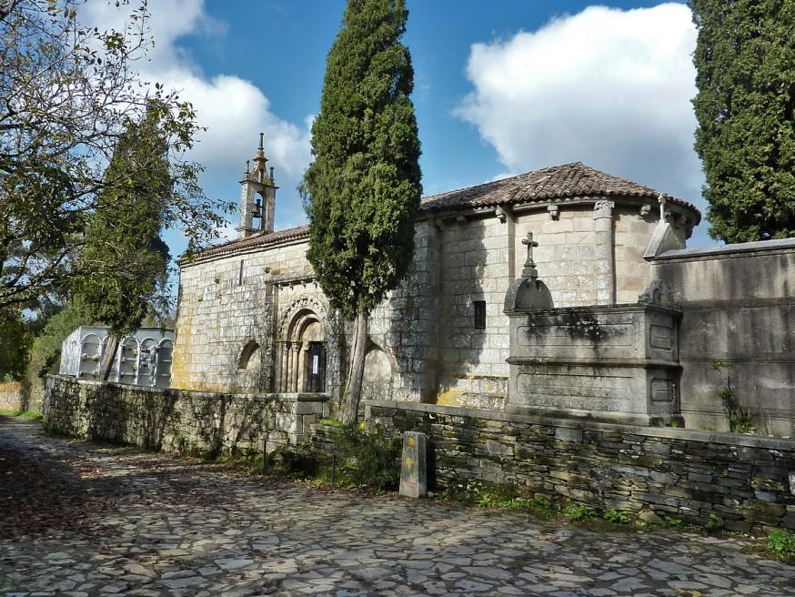 Petite église de pierre - Galice - Compostelle