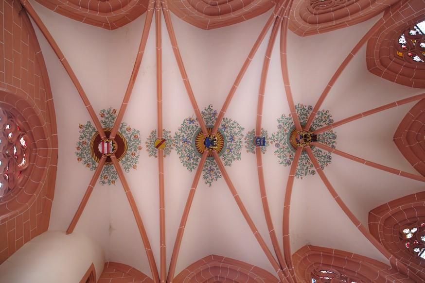 Plafond - Eglise - Wertheim
