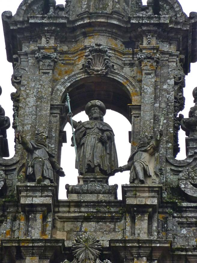 Statue de Saint-Jacques - Saint-Jacques-de-Compostelle