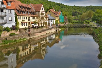 Sur les bords de la Tauber - Wertheim