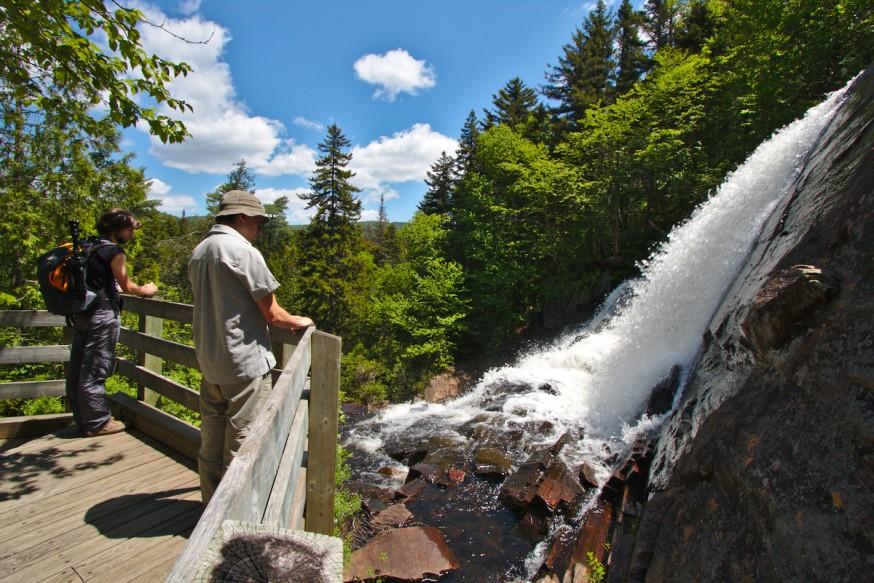 Cascade - Parc du Mont-Tremblant
