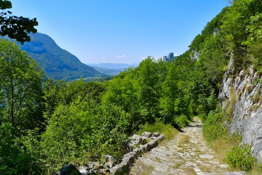 Chemin de la Figlia - Tours Saint-Jacques - Rando lac d annecy
