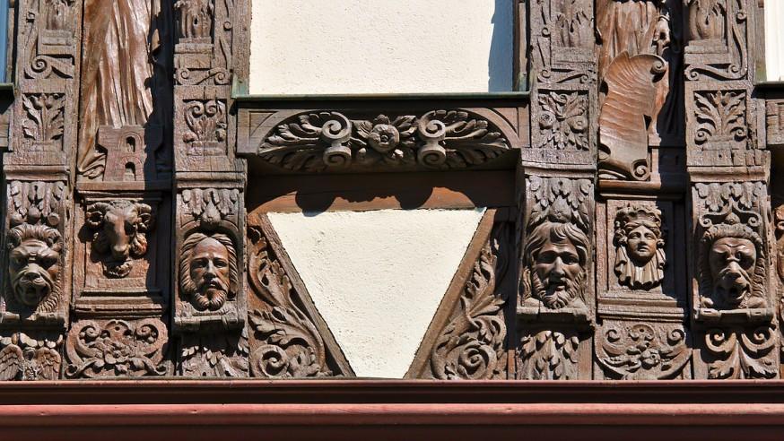Détail de colombages - Strasbourg