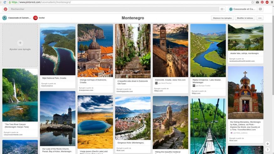 Montenegro Pinterest Cassonade et Camembert