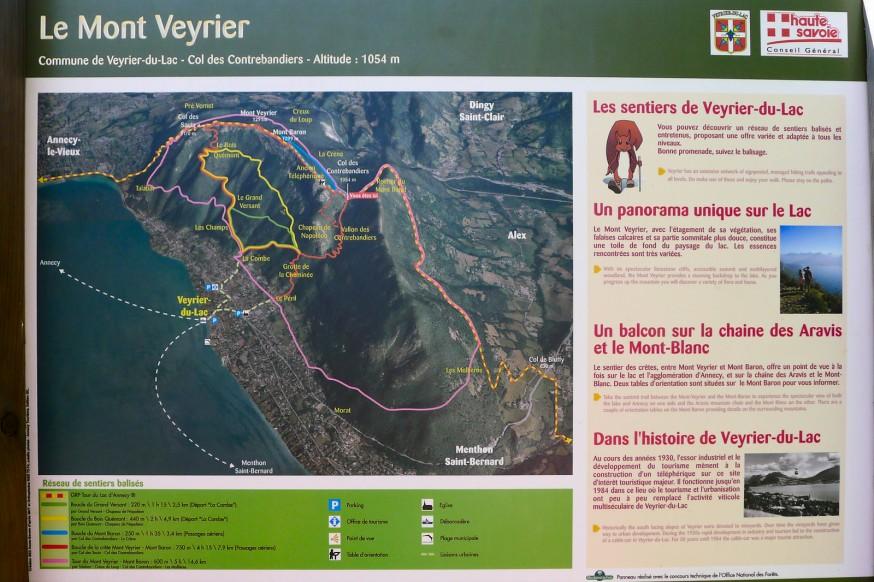 Plan Mont Veyrier - rando lac d annecy