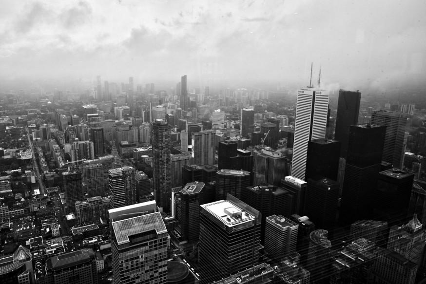 Toronto vu depuis la CN Tower
