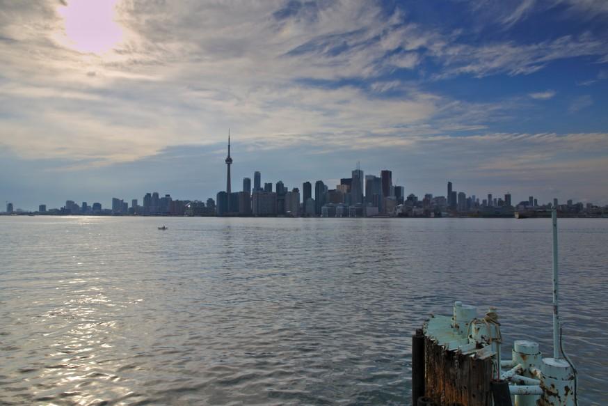 Toronto vue depuis les iles