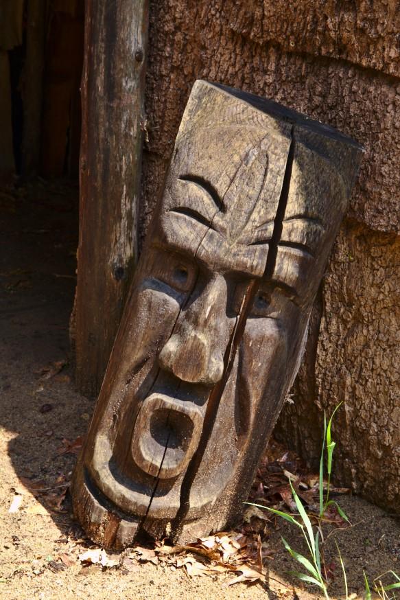 Sculpture pour chasser les mauvais esprits - Indiens Hurons - Midland