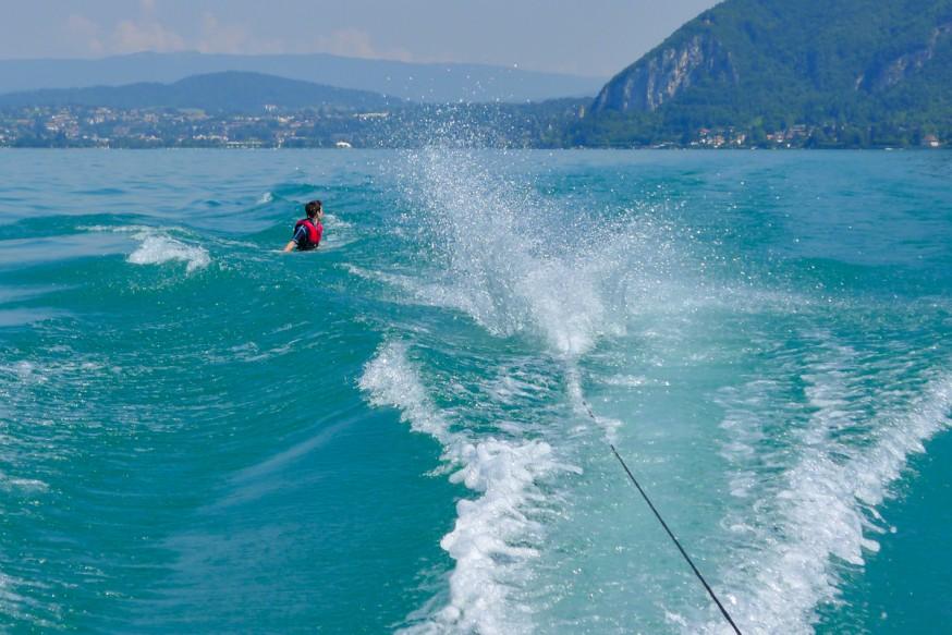 Lac d Annecy - Et plouf dans l'eau